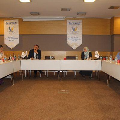 Çatışma Çözümleri ve STK'lar Çalıştayı Başladı