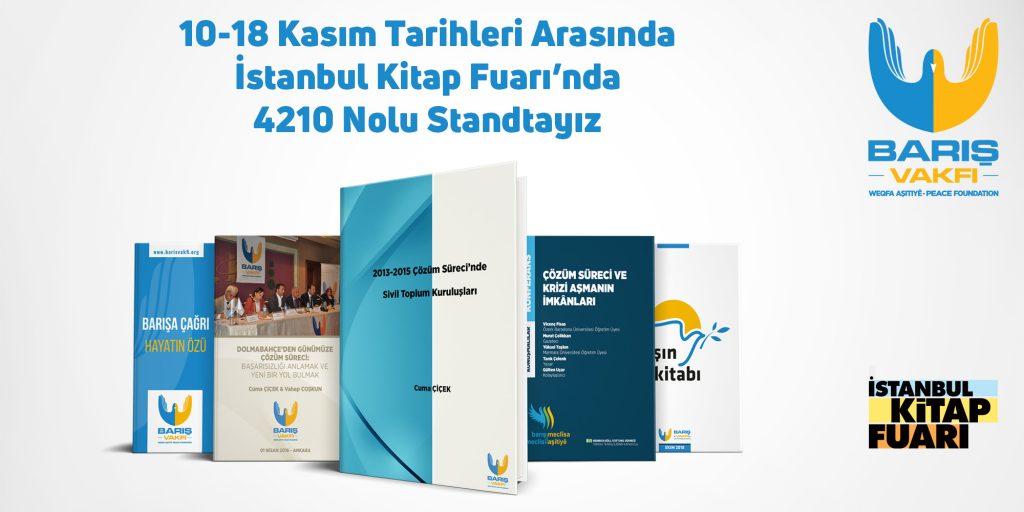 İstanbul Kitap Fuarındayız